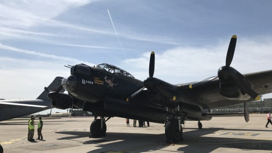Lancaster at RAF Brize Norton