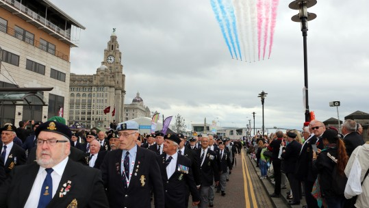 Armed Forces Day 2017 Has Come To Liverpool