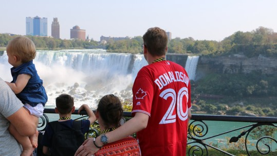 Invictus Families Wind Down At Niagara Falls