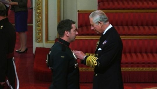 'Bomb Magnet' Soldier Honoured With Military Cross