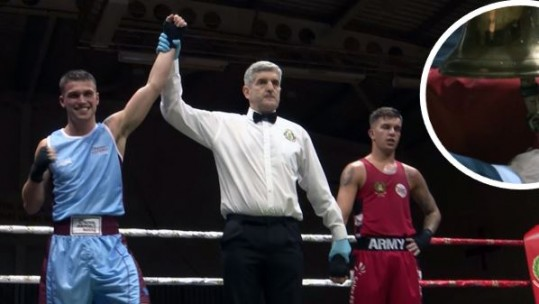British military Inter-Services Boxing Championships semi-finals 2018