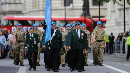 International peacekeepers remembered at the Cenotaph 230519 CREDIT MOD