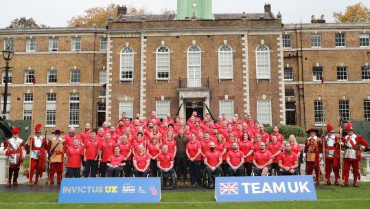 Team UK team photo