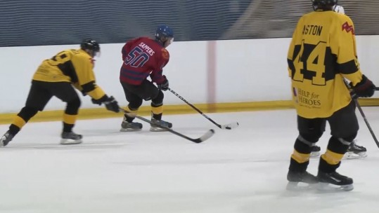 Army Prepare For Inter-Service Ice Hockey Championships
