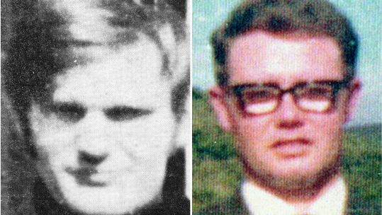 James Wray and William McKinney who died on Bloody Sunday (Picture: PA).