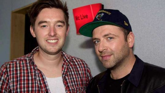 Markus Feehily in Session on BFBS