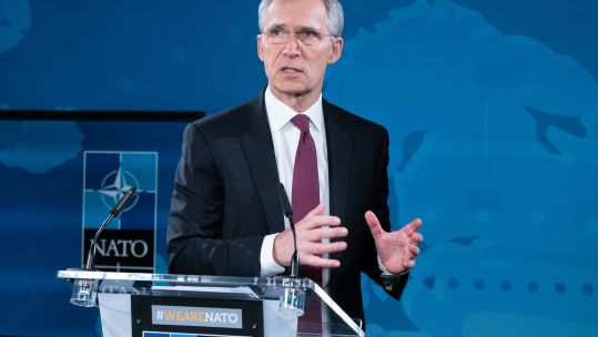 Cover image: Library photo of Jens Stoltenberg (Picture: NATO).