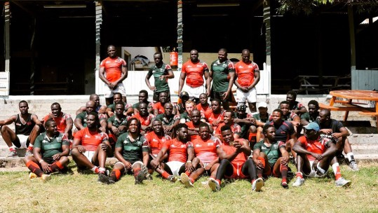 Kenya National Rugby Union Squad Simbas Captain William Reeve BATUK Forces Radio BFBS Jo Thoenes