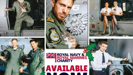Kittens And Royal Navy Star In Super Cute Charity Calendar