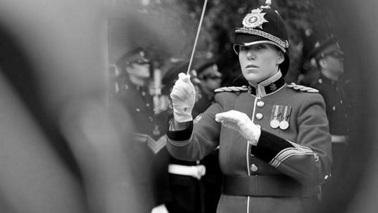 Conductor at Kneller Hall, Twickenham