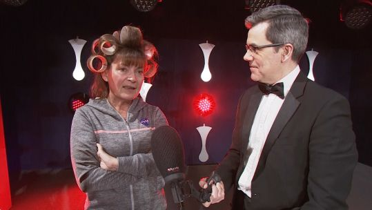 Lorraine Kelly at the Millies