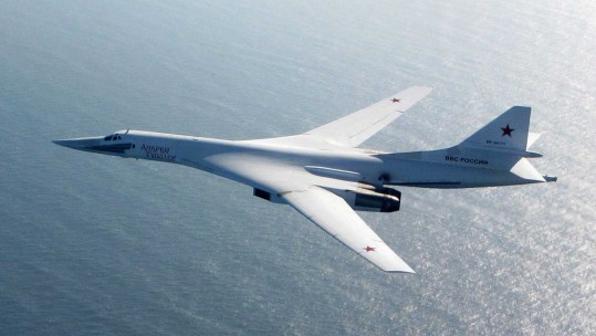 Russian Air Force Tu-160 Blackjack Supersonic Bomber