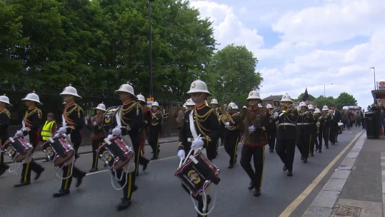 Parade Marks Anniversary Of Lee Rigby's Murder