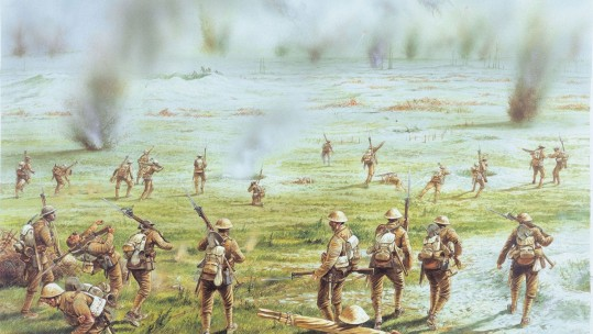 British Army at the Battle of the Somme