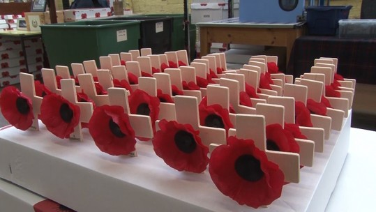 lady Haig Poppy Factory