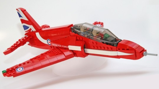 Thousands Back Calls For LEGO Red Arrows
