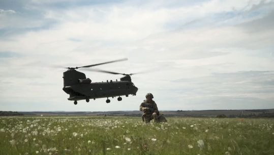 Light Dragoons and 2 Royal Anglian begin training on Salisbury Plain before Mali deployment