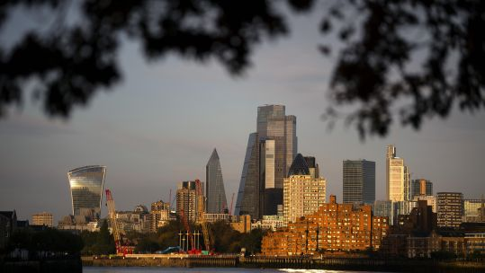 Cover image: London skyline (Picture: PA).