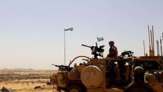 Cover image: Long Range Recce Group in Mali (Picture: British Army).