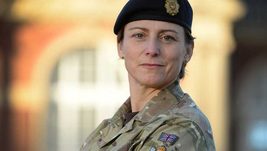 First Female Sandhurst Commander Wants To Inspire Future Leaders