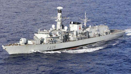 HMS Montrose (Picture: MOD).