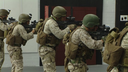 Combat Training With The Marines