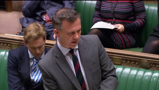 Mark Lancaster Defence Questions on Capita Credit Parliament TV