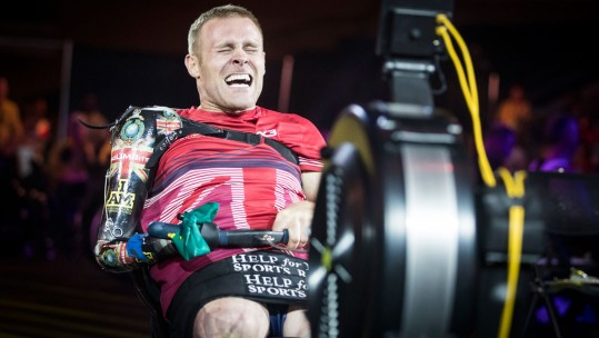 Mark Ormrod 2017 Invictus Games Toronto Canada Indoor Rowing Credit Danny Lawson/PA Archive/PA Images
