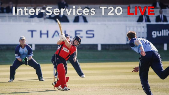 British military Inter-Services T20 cricket