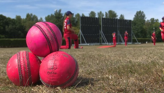 Women's Armed Forces Cricketers Take On Strong Welsh International Team