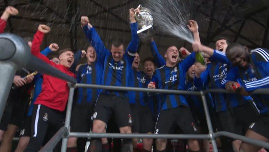 1 YORKS Keep The Army FA Challenge Cup In Nailbiting Match