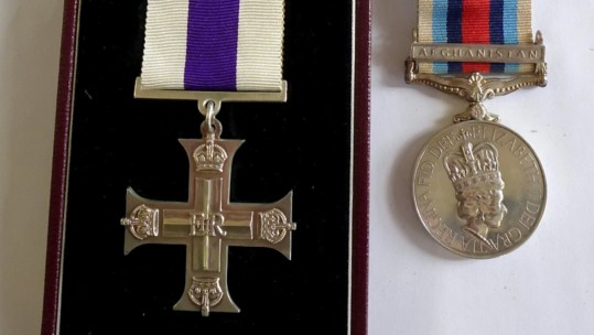 Soldier Sells His Military Cross After Suing MoD For Failed PTSD Diagnosis