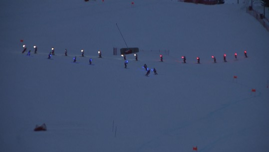 Meribel 2018 opening ceremony