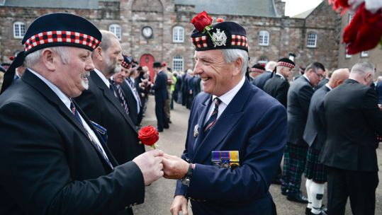 King's Own Scottish Borderers Minden Day