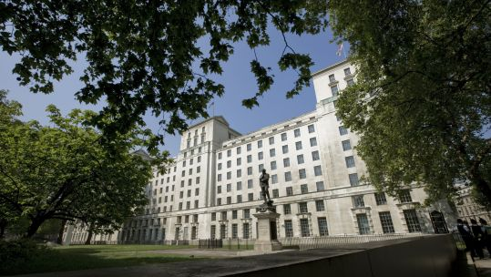 MOD building Whitehall (Picture: Crown Copyright).