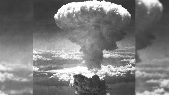 Nagasaki Atomic Bomb Mushroom Cloud Credit UPI/Press Association Image 31956478