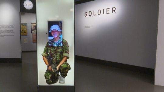 National Army Museum women exhibition