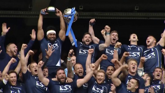 Navy Inter-Services Rugby Champions After Twickenham Draw