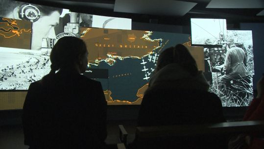 New D-Day exhibition at Bletchley Park.
