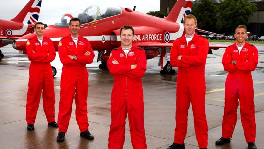 2018 New Red Arrows Pilots