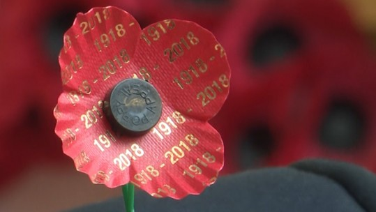 Scottish First World War Centenary Poppy