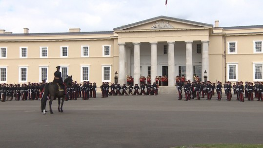 Sovereign's Parade Sandhurst