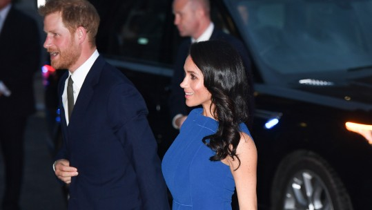 Prince Harry & Meghan Attend Charity Concert Marking Final Days of WW1 PA Images