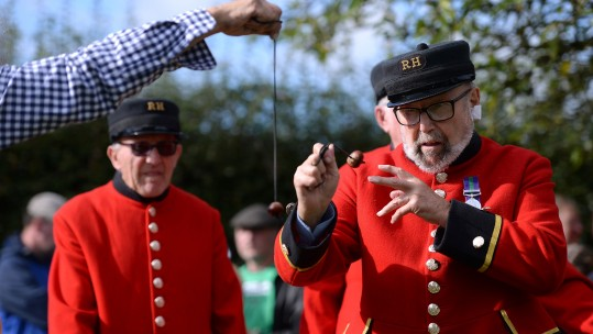 Chelsea Pensioners Conker World Championship