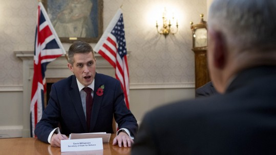 Gavin Williamson & James Mattis PA Credit