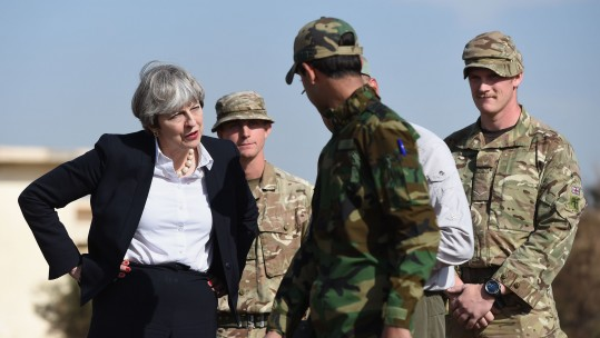Theresa May Iraq