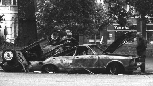 Hyde Park bombing (Picture: PA).