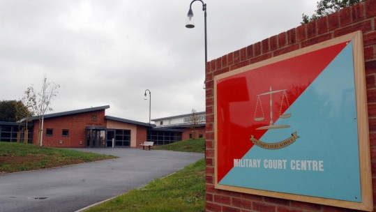 Military Court Centre (Picture: PA).
