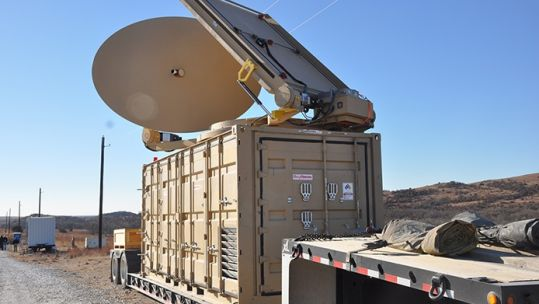 The United States are already trialling the technology against drones (Picture: US Army).