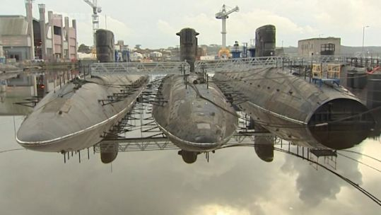 PM Urged To Fund Recycling Of UK's Old Nuclear Submarines